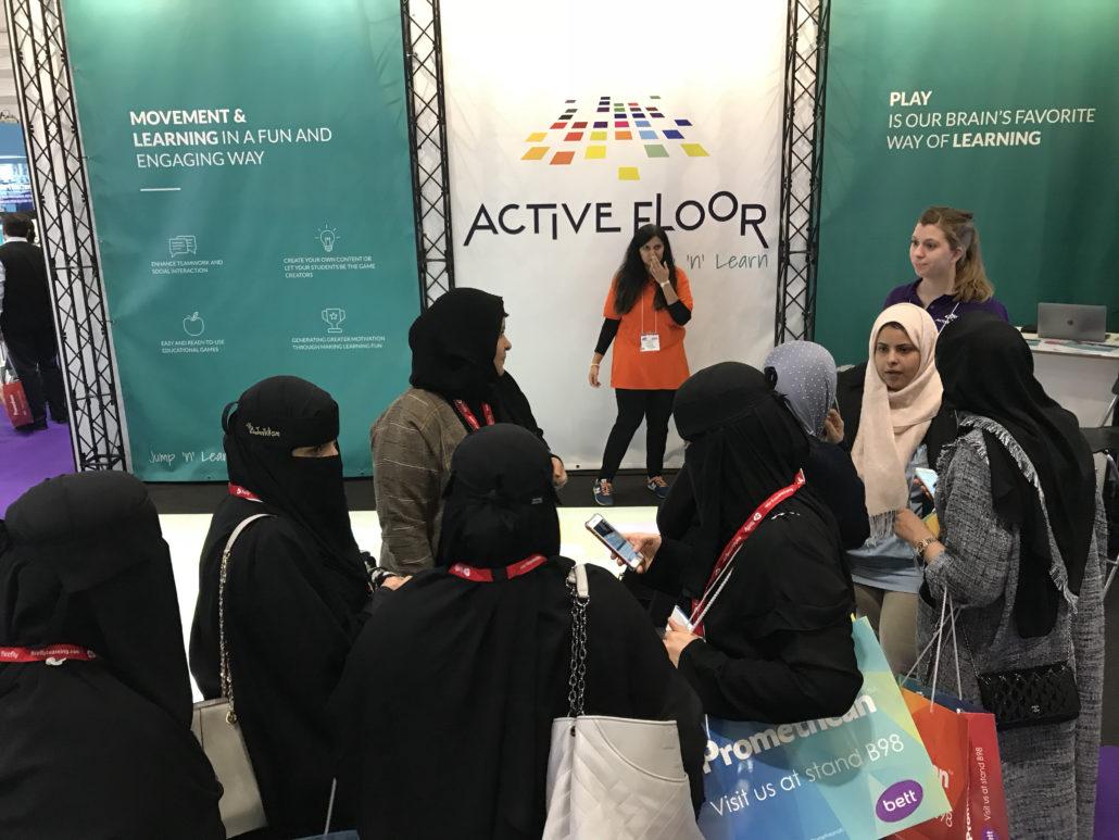 Active Floor Bett 2018