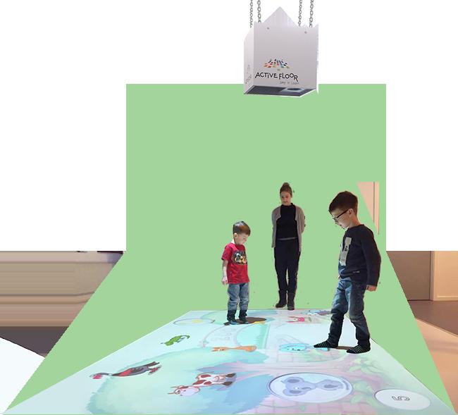 interaktive gulv