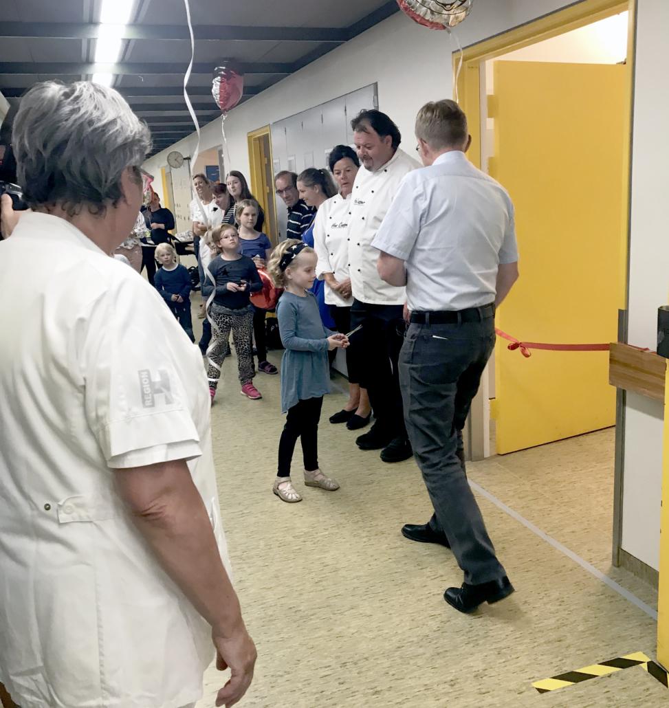 Bornholms Hospitals Børneafdeling har fået et Active Floor