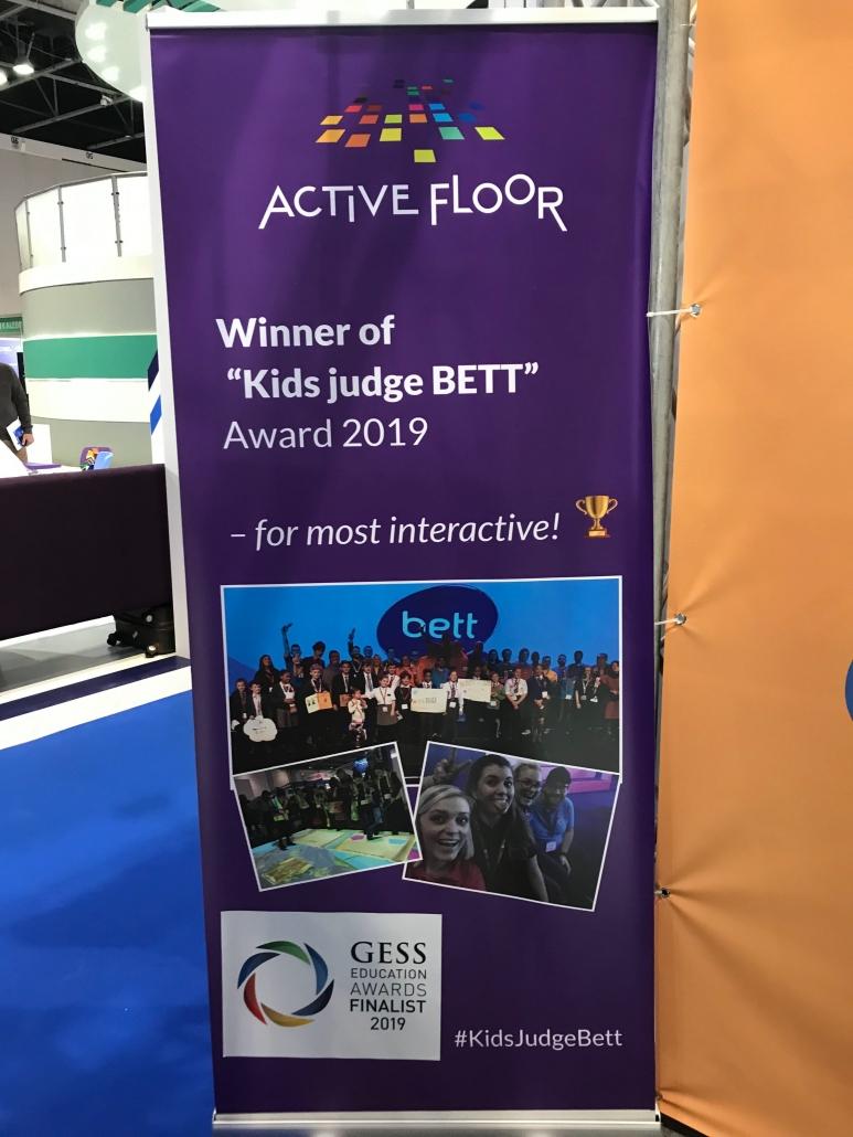 ActiveFloor vinder endnu en pris